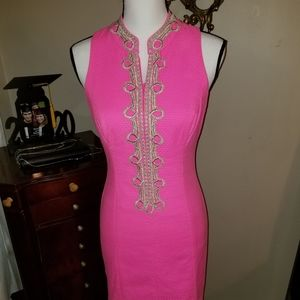 Lilly Pulitzer Dresses - Lilly Pulitzer Pink beautiful dress